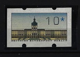 BERLIN - ATM Nennwert 10 Pfennig - OHNE Druck DBP - Postfrisch - Variétés