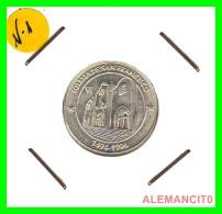 "IGLESIA SAN FRANCISCO   "" SILVER ""  MONEDA REPLICA "" S/C 7,60 GRS  PLATA 22 MM - Monedas"
