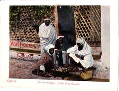 1 Trade Card Chromo CHESS ECHEC SCHACH  Pub Cacao Van Houten Schaakspelende Inboorlingen Algerie - Echecs
