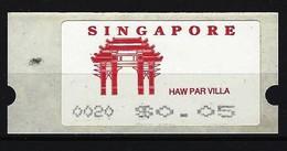 SINGAPUR - ATM Nr. 4 Postfrisch - Singapur (1959-...)