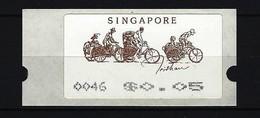 SINGAPUR - ATM Nr. 5 Postfrisch - Singapur (1959-...)