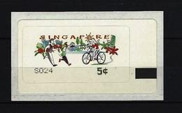SINGAPUR - ATM Nr. 8 Postfrisch - Singapur (1959-...)