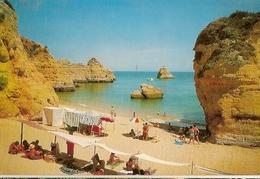Portugal & Bilhete Postal, Praia De D. Ana, Lagos, Tavira 1968 (459) - Faro
