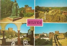 Portugal & Bilhete Postal, Vistas Panoramicas Do Castelo De Silves, Lisboa 1975  (458) - Faro