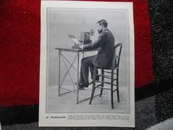 """Le Télégraphe  """"Photo-Gravure"""" Histoire - Old Paper"""