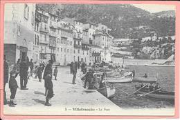 Villefranche-sur-Mer - Le Port Animée Toilée - Villefranche-sur-Mer