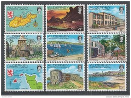 Alderney 1983. Scott #1-12 (MNH) Tourist Attractions * - Alderney