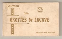 Carnet 20-2 = 18 Cartes  46 GROTTES DE LACAVE - Unclassified