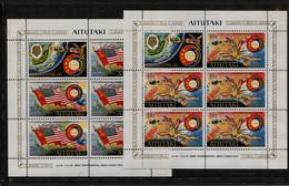 Aitutaki, 1975,  Apollo, Sojus,  Space, Espace