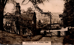 SOUTH YORKS - ENTRANCE TO WORBORO PARK  Ys185 - Other