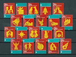2003 Netherlands Complete Set Kerst,christmas,noël,weihnachten Used/gebruikt/oblitere - Periode 1980-... (Beatrix)