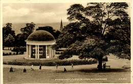 SOUTH YORKS - ROTHERHAM - BANDSTAND, CLIFTON PARK  Ys180 - England