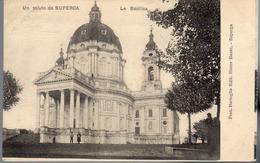 - ITALIE - CPA Vierge Un Saluto Da SUPERGA - La Basilica - Edit. Bertoglio - - Italië