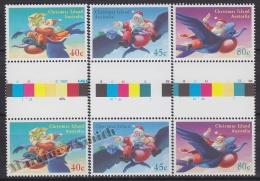 Christmas Island 1995 Yvert 416- 18, Christmas, Noël - MNH - Christmas Island