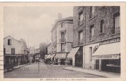 CP (7) HOUILLES La Rue Gambetta - Houilles