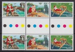 Christmas Island 1997 Yvert 440- 42, Christmas, Noël - MNH - Christmas Island