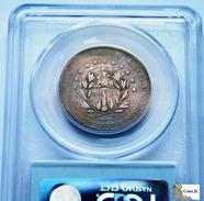 Honduras - 50 Centavos - PCGS - 1871 - Honduras