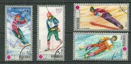 POLAND Oblitéré 1989-1992 Jeux Olympiques D´hiver à SAPPORO JAPON Ski Biathlon - 1944-.... Republik