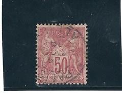 France N° 98  O   Val: YT : 3,00 € - 1876-1898 Sage (Type II)
