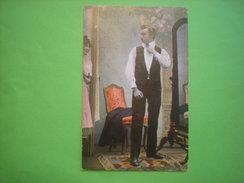 Homme S'habillant Devant Sa Femme, Timbre 1907 (R1) - Couples