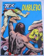"""381A/58  TEX WILLER  """" DIABLERO """" N.135 ANNI 70 £ 250 FUMETTI GIORNALINI  BONELLI - Tex"""