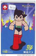 Carte Prépayée Japon * ASTRO BOY * ASTROBOY (303) BD Comics * MANGA * TEZUKA * JAPAN ANIME PREPAIDCARD * - Film