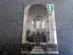 CPA - LE LONGERON (49) - L'intérieur De L'église - 1907 - Cp écrite à La Comtesse De PARTZ - Autres Communes
