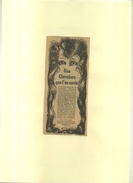FRANCE . PUB. LOTION LAVONA . REPRO ANNEES 1920 ILLUSTREE PAR PYR . DECOUPEE ET COLLEE SUR PAPIER . - Publicités