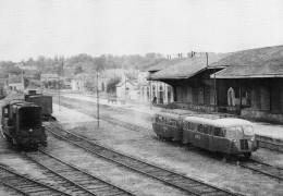 ACACF 069 - Autorail Verney Et Locotracteur En Gare De MAMERS - Sarthe 72 - M-St-C - SNCF - - Mamers