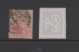 COB 5 Oblitéré Filigrane Encadré - 1849-1850 Medaillen (3/5)