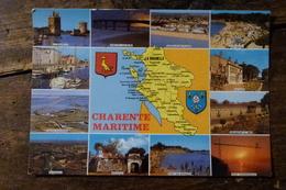 17, CHARENTE MARITIME, MULTI-VUES De 1993, LA ROCHELLE, FOURAS, ILE D'AIX, BROUAGE, MARENNES, MARANS, ROCHEFORT ... - Francia