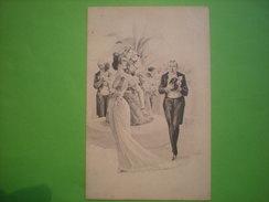 Invitation Au Bal, Non Circulée (R1) - Couples