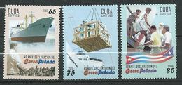 Cuba 2006 The 40th Anniversary Of The Cerro Pelado Declaration.ship.MNH - Kuba