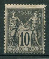 FRANCE ( POSTE ) : Y&T N° 103  TIMBRE  NEUF  AVEC  TRACE  DE  CHARNIERE , GOMME  ALTERE  , A VOIR . - 1898-1900 Sage (Type III)