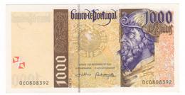 Portogallo 7/11/2000. Escudos 1000. Unc. - Portugal