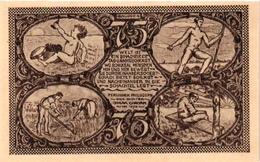 6 NOTGELD  CHESS ECHEC SCHACH  Die Welt-Schach -Partie Kongress Gutschein 1921 - Echecs
