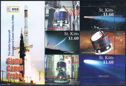 Bloc Sheet Espace Space Neuf  MNH ** St Kitts 2007