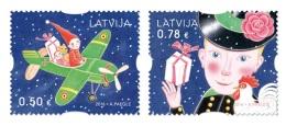 Latvia 2016 Mih. 1004/05 Christmas MNH ** - Latvia