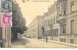 CPA / PK/ AK  -  ATH  Rue Isidore Hotton Et Caserne - Ath