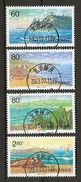 China Volksrepublik (VR) 2001  Mi. 3264-3267  O/used    Urlaubsregion Baidaihe