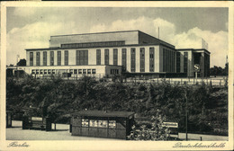 1938, BERLIN NW 7, Deutschlandhalle, Stpl: 15. Große Deutsche Rundfunk-Ausstelluing .... Am Funkturm, - Germania