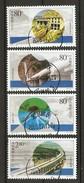 China Volksrepublik (VR) 2001  Mi. 3271-3274  O/used    Umleitung Datong-Fluß