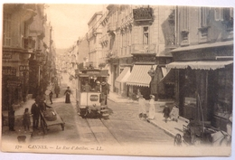 LA RUE D'ANTIBES - CANNES - Cannes