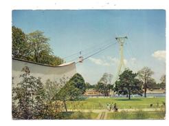 5000 KÖLN - DEUTZ, BUNDESGARTENSCHAU 1957, Rheinseilbahn, Sonderbriefmarke Und Sonderstempel - Koeln