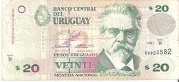Uruguay 20 Pesos 1997 - Uruguay