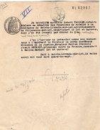 VP9602 - SAINTE LIVRADE - Acte De 1947 - Mr Robert TROUCHE Notaire - Manuscripts