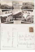 PATRICA ( FROSINONE ) SALUTI - VEDUTINE - EDIZ. GIAMMARIA - 1962 ( 81 ) - Frosinone