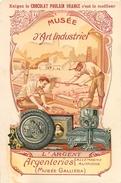 IMAGE (5) - Chocolat Poulain Orange Musée D'Art Industriel L'Argent Argenteries Money .... Texte Au Dos - Vieux Papiers