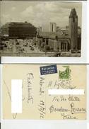 Helsinki: Helsingfors - Rautatie Asema - Arnvacs Station - Raillway. Postcard Cm 10x14,5 B/w Travelled 1952 XV Olympiade - Finland