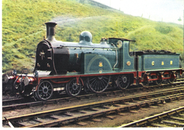 Caledonian Railway - Locomotive No.123